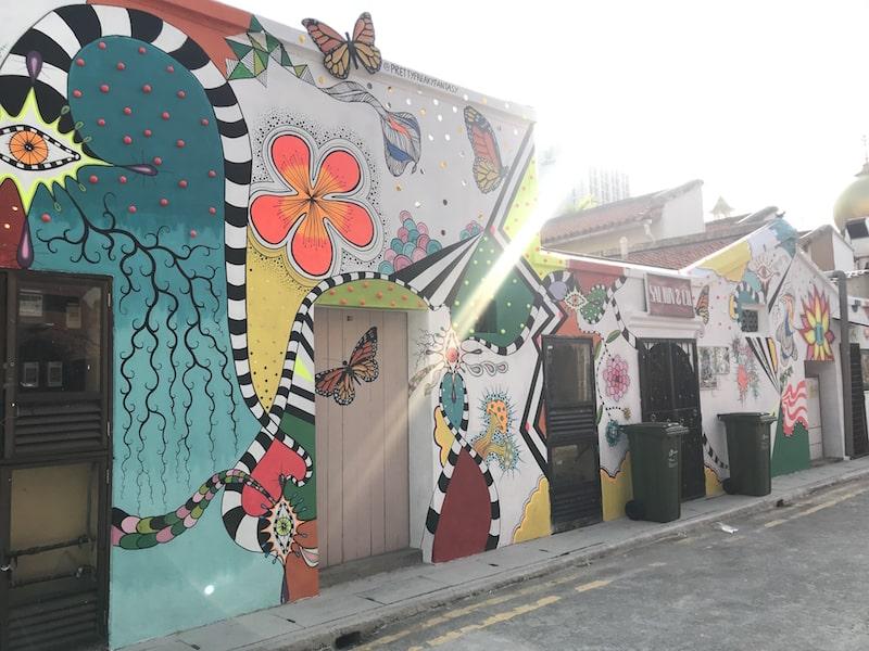 Street art in Haji Lane