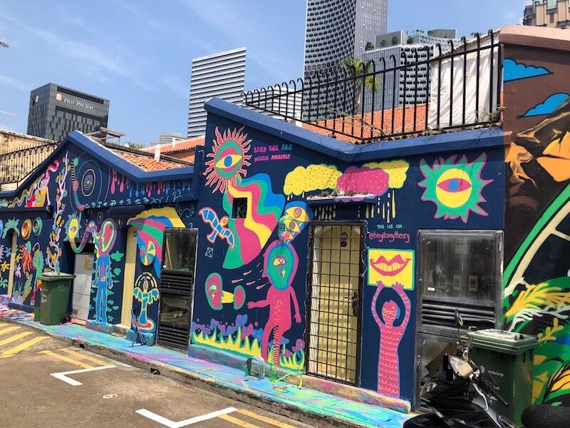 Haji Lane Singapore street art