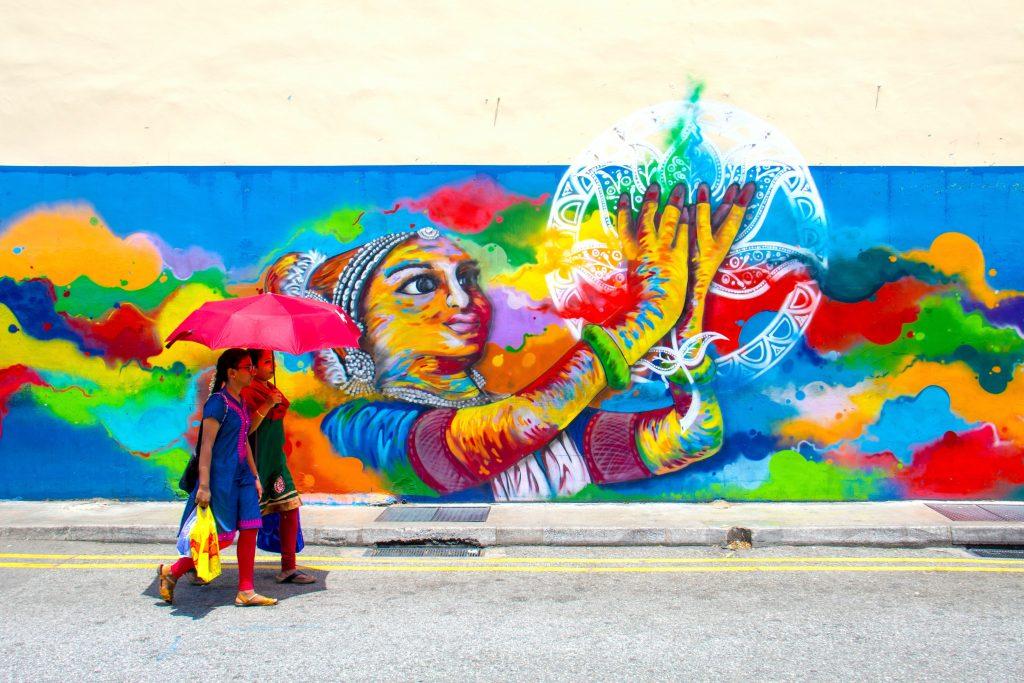 Singapore Little India murals