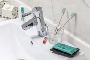 Environmentally-friendly amenities at Hotel G Singapore