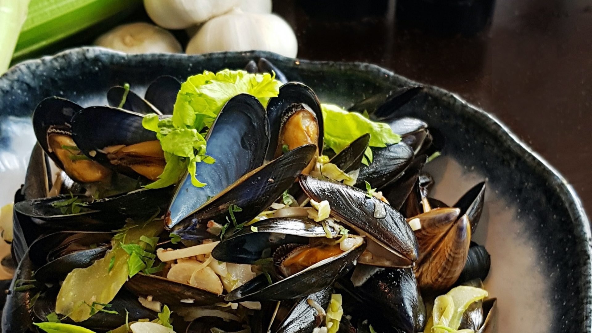 Bouchot Mussels in Singapore