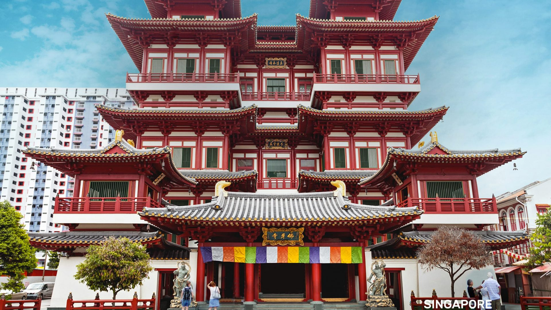 Heritage Buildings in Singapore