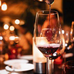 Wine pairing at Ginett Singapore