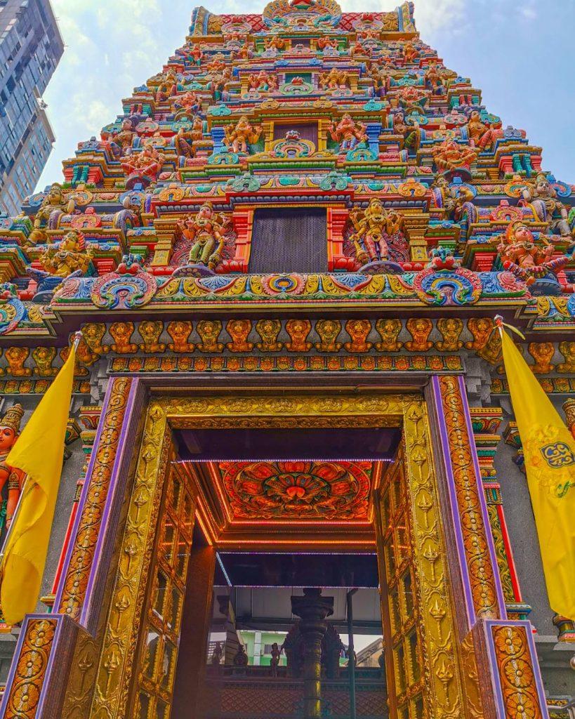 Hindu temple Bangkok Silom