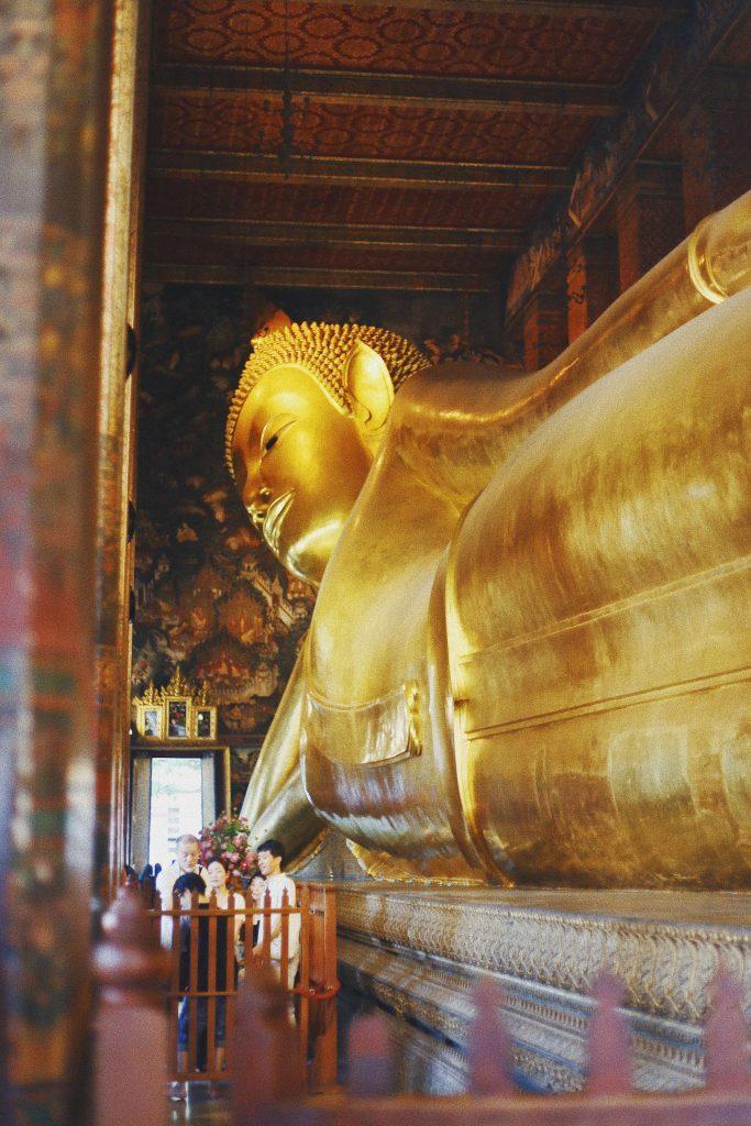 Wat Pho Bangkok reclining Buddha