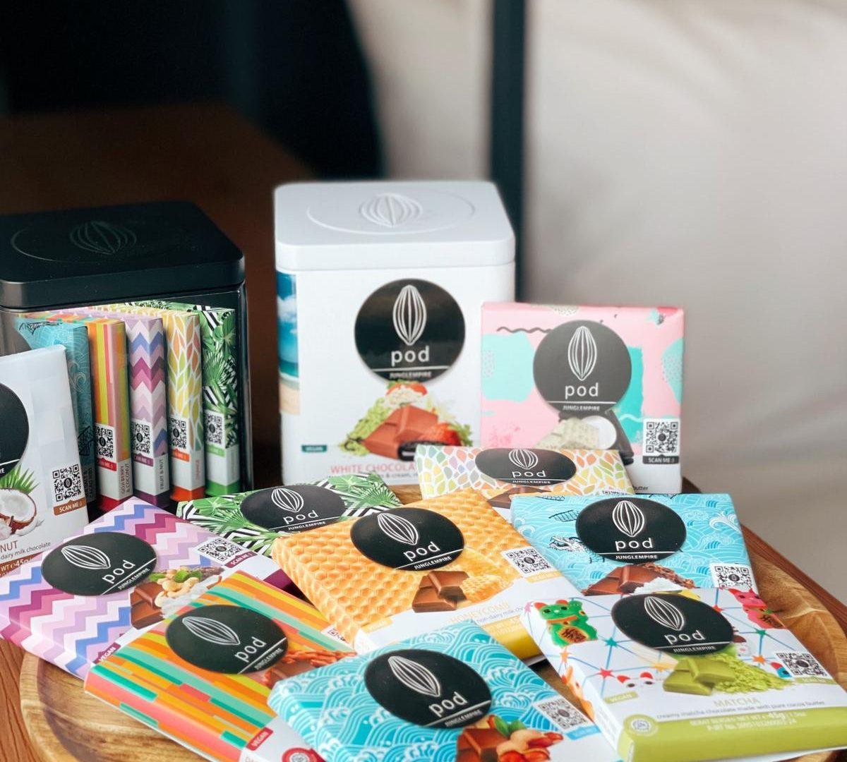 Pod Chocolate set for Easter Package Residence G Hong Kong