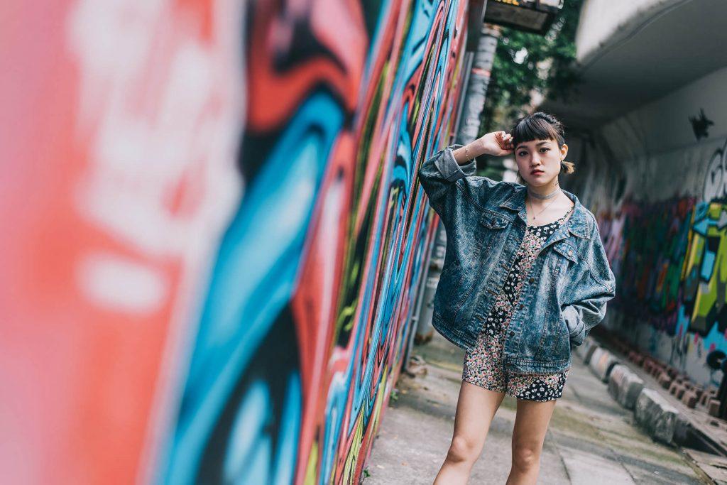 Mongkok wall of fame Hong Kong