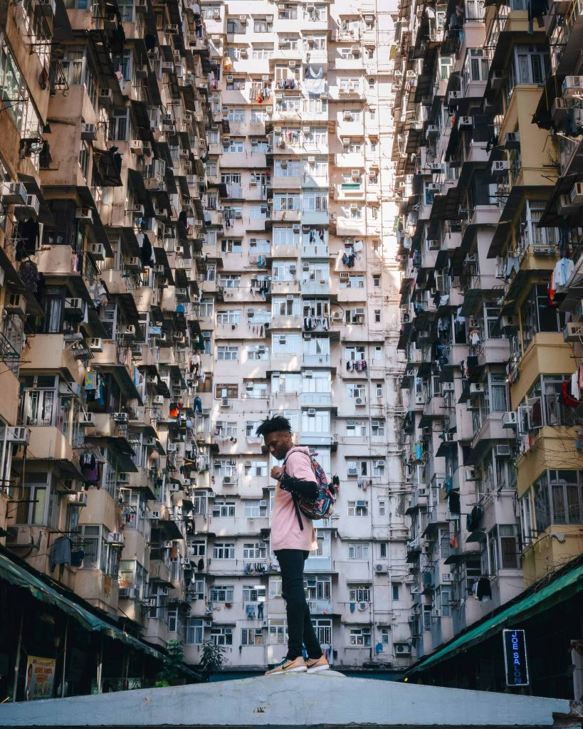 Transformers building Hong Kong