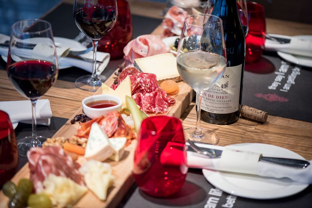 cold cuts and cheese at Ginett Singapore