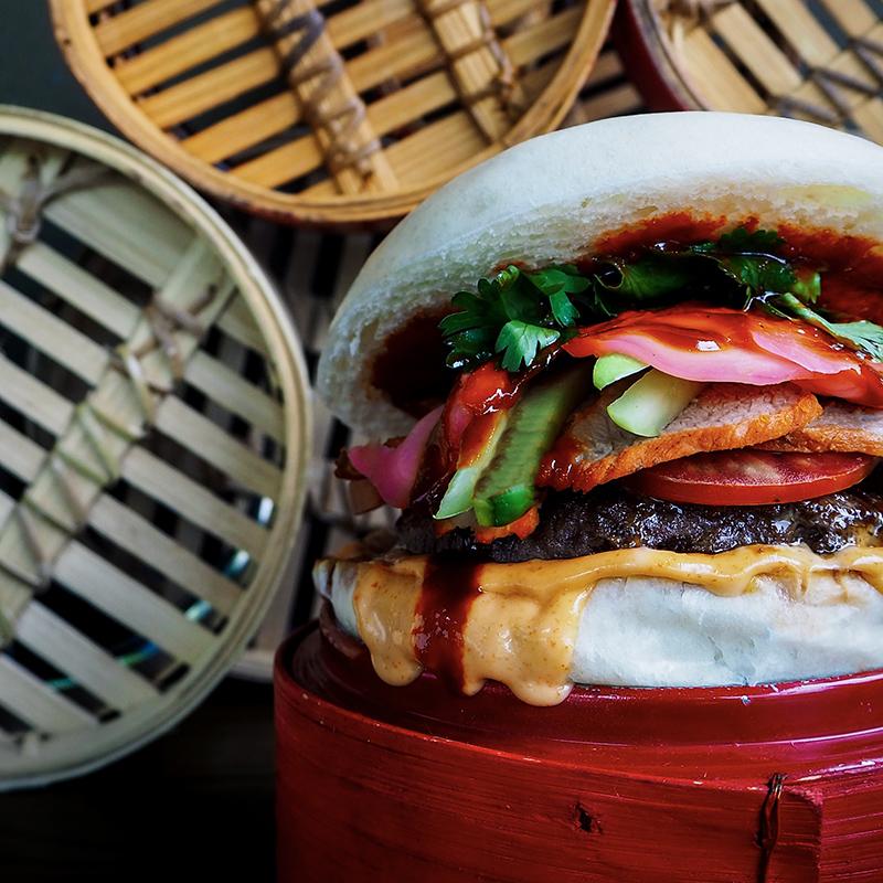 The Hambaoger at 25 Degrees Singapore