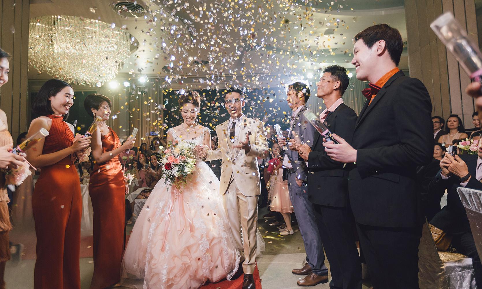 Just married couple at Pullman Bangkok Hotel G