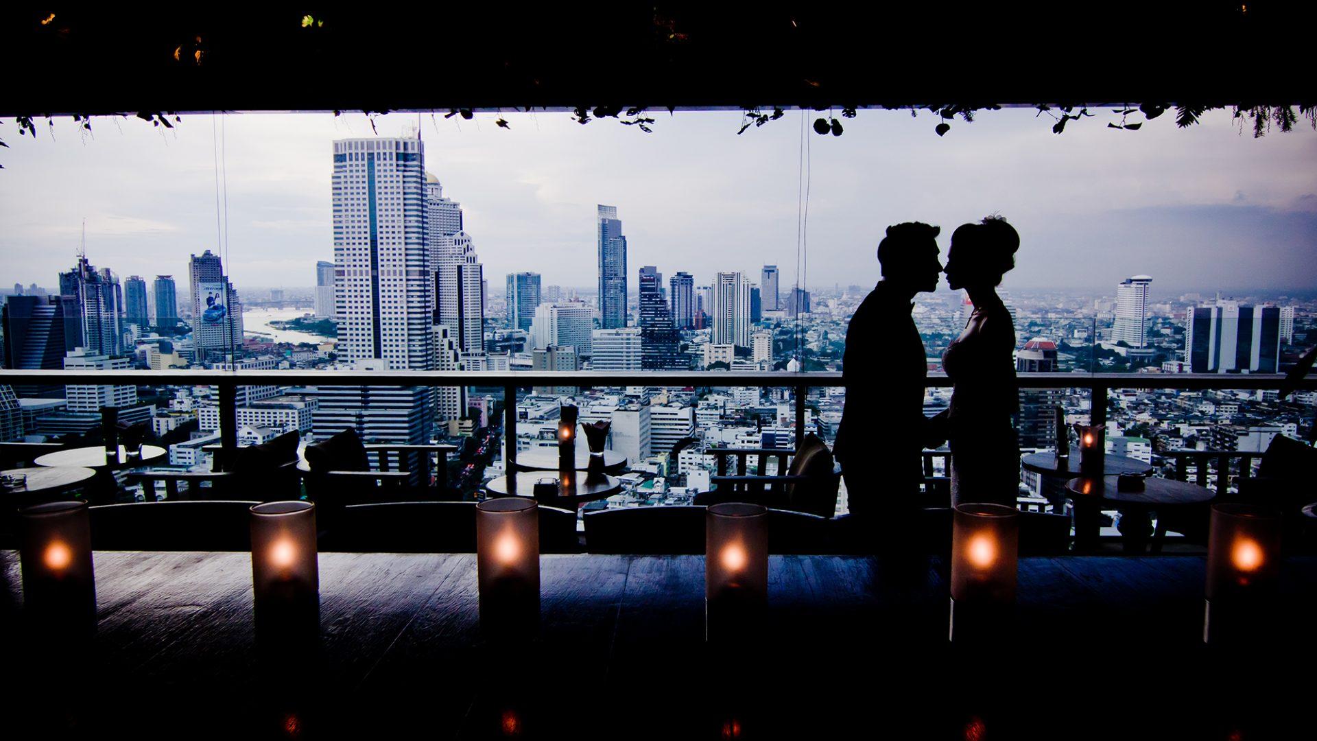 Scarlett Bangkok Wedding Couple