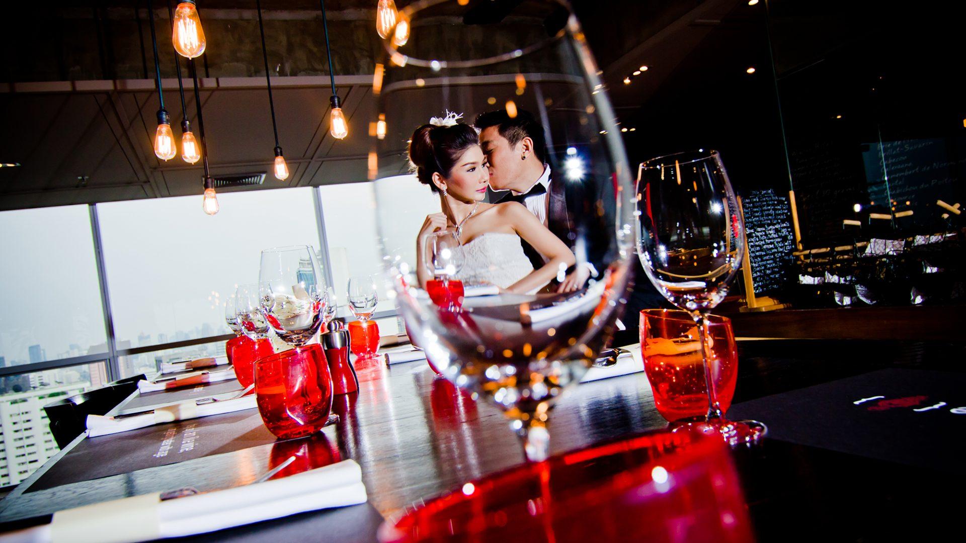 Scarlett BKK wedding couple