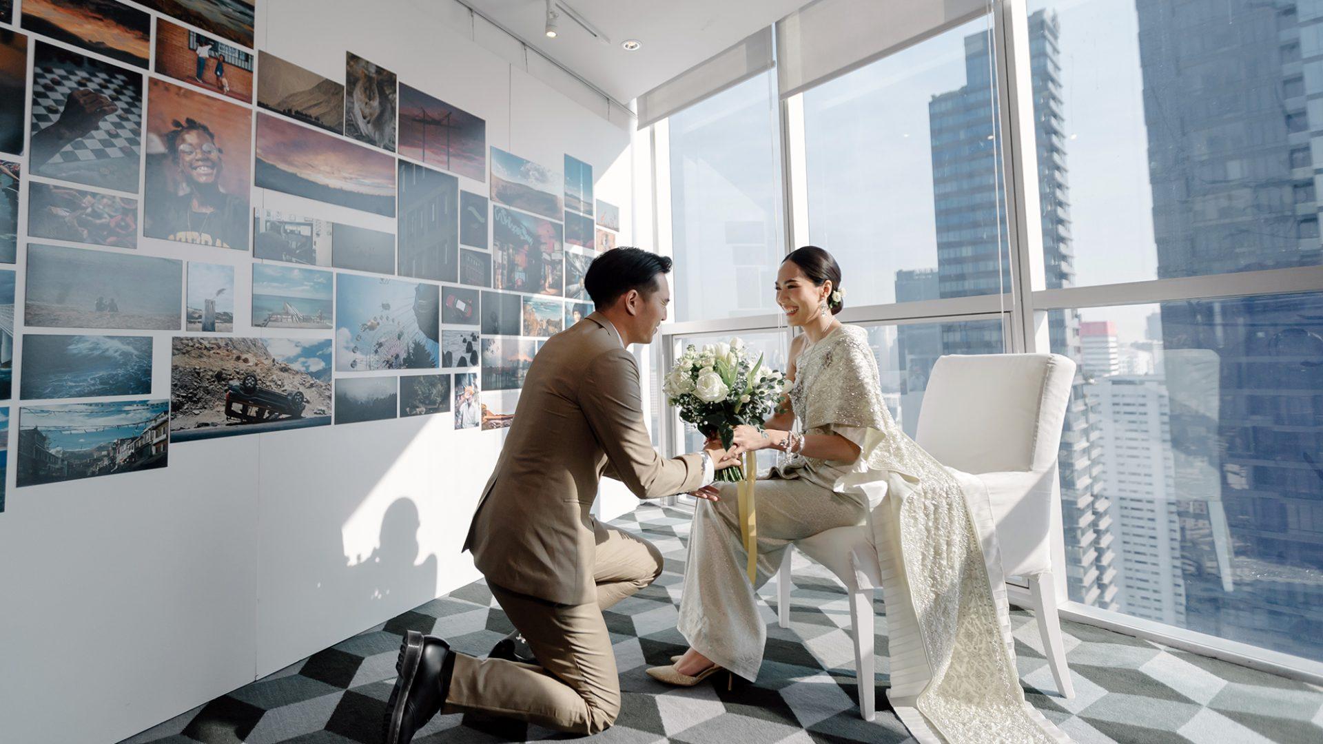 Creative wedding at Pullman Bangkok Hotel G