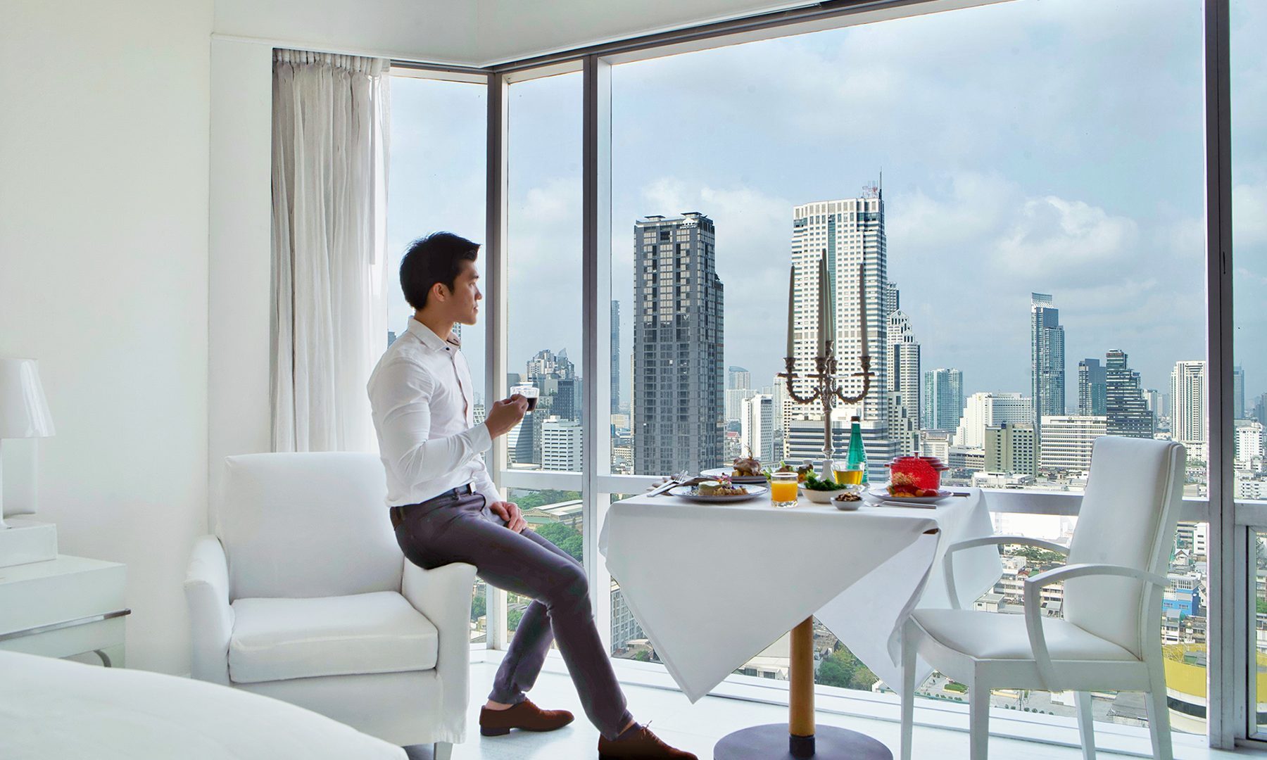 ASQ Gourmet Package in G Deluxe Room with Man
