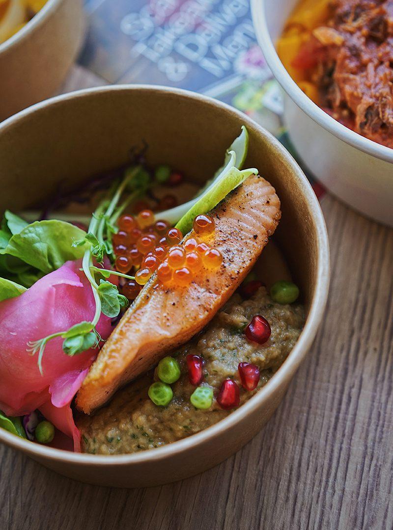 Salmon Teriyaki   French Food Delivered in Bangkok
