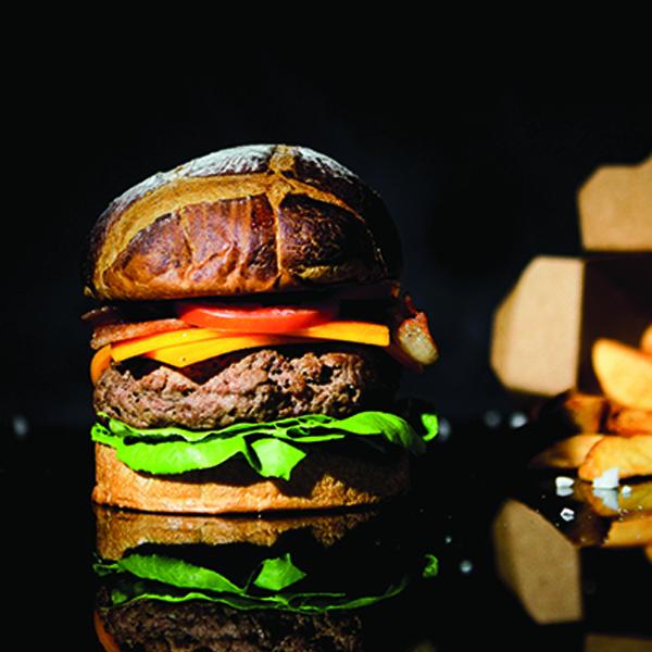 Dry-aged Burger at 25 Degrees