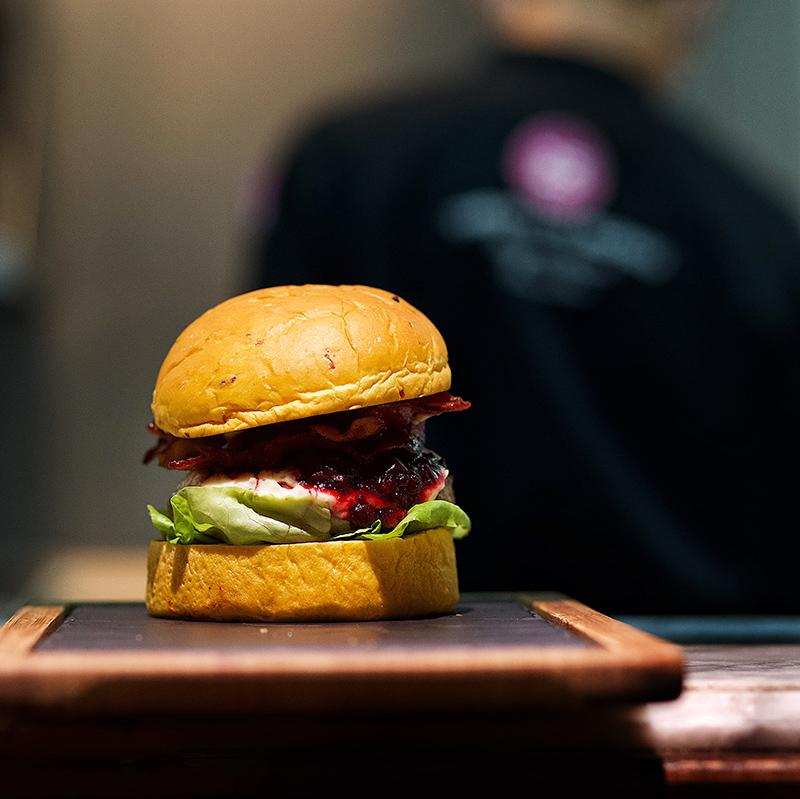 25 Degrees Singapore The Turkey Burger